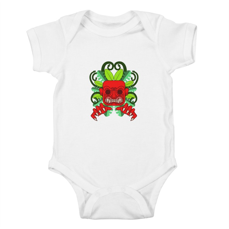 Ai Apaec Kids Baby Bodysuit by juliusllopis's Artist Shop