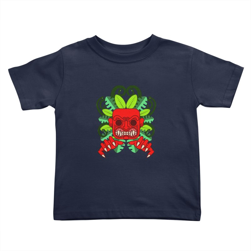 Ai Apaec Kids Toddler T-Shirt by juliusllopis's Artist Shop