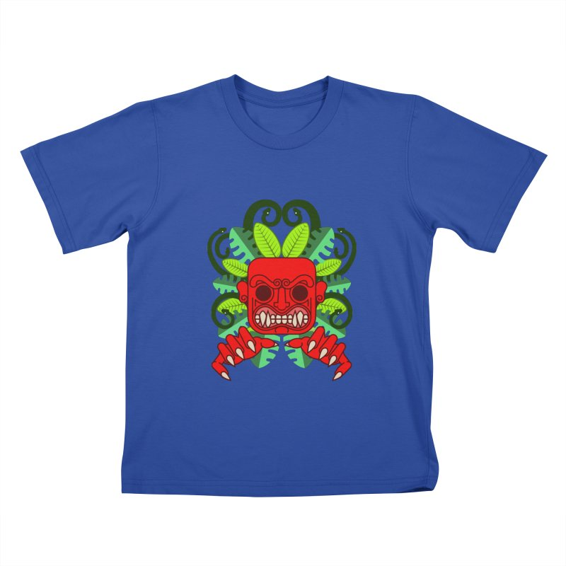 Ai Apaec Kids T-Shirt by juliusllopis's Artist Shop