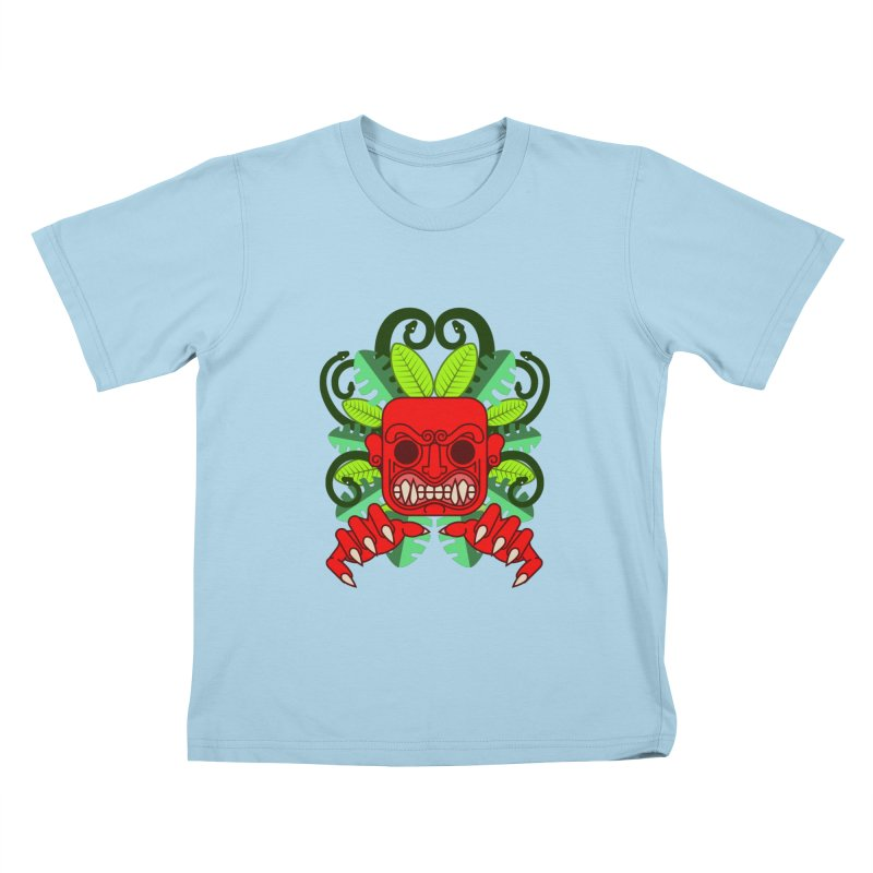 Ai Apaec Kids T-Shirt by juliusllopis's Artist Shop