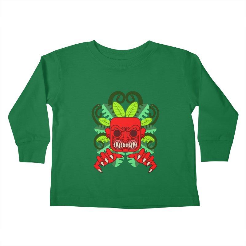 Ai Apaec Kids Toddler Longsleeve T-Shirt by juliusllopis's Artist Shop