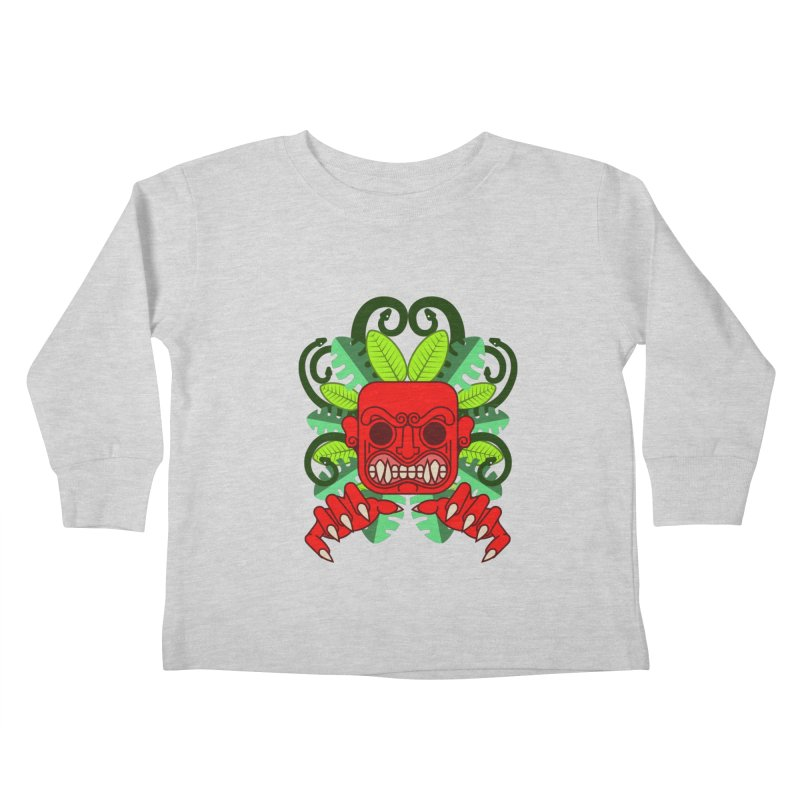 Ai Apaec Kids Toddler Longsleeve T-Shirt by juliusllopis's Artist Shop