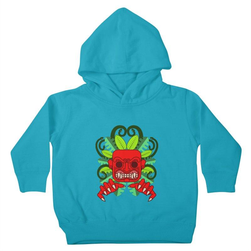 Ai Apaec Kids Toddler Pullover Hoody by juliusllopis's Artist Shop