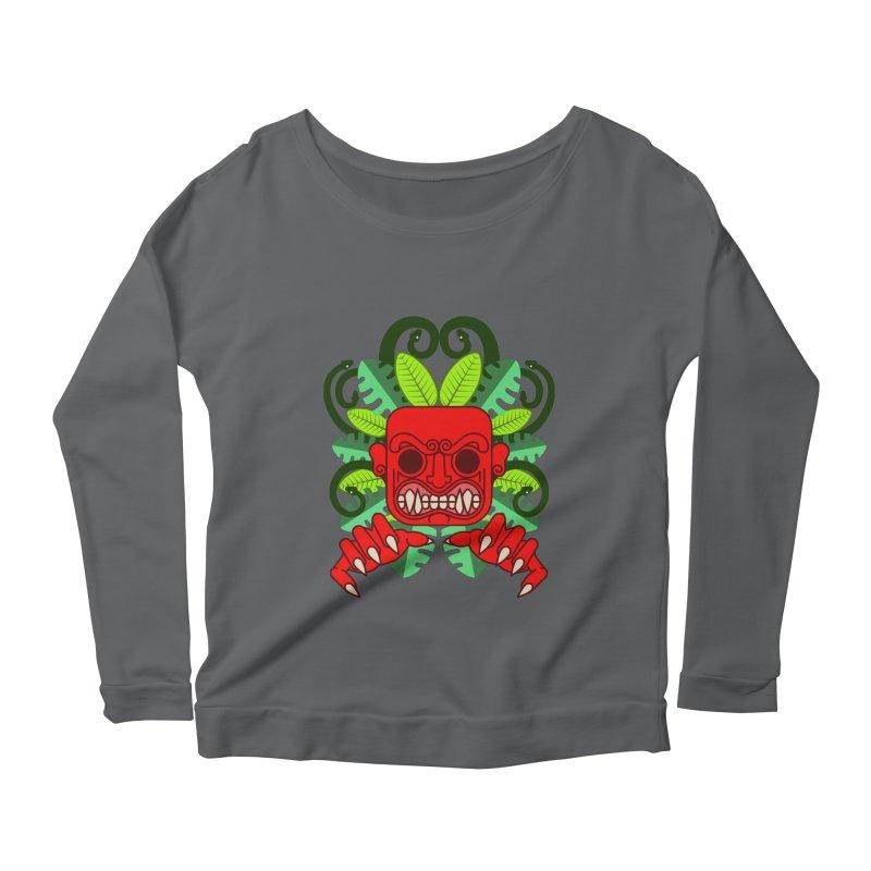 Ai Apaec Women's Scoop Neck Longsleeve T-Shirt by juliusllopis's Artist Shop