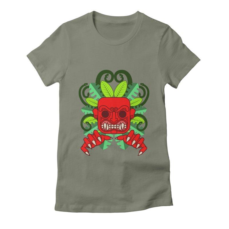 Ai Apaec Women's Fitted T-Shirt by juliusllopis's Artist Shop