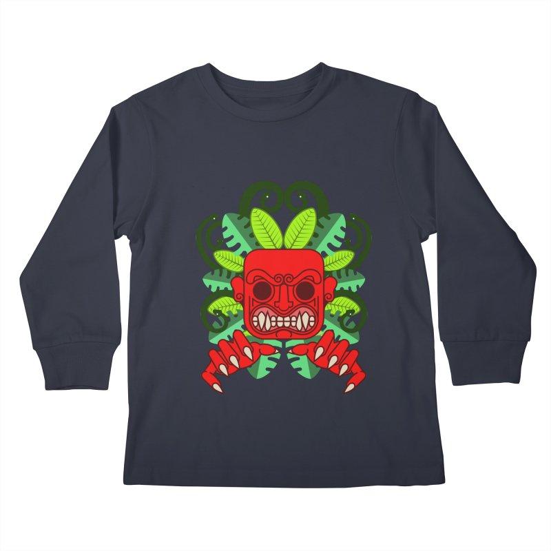 Ai Apaec Kids Longsleeve T-Shirt by juliusllopis's Artist Shop