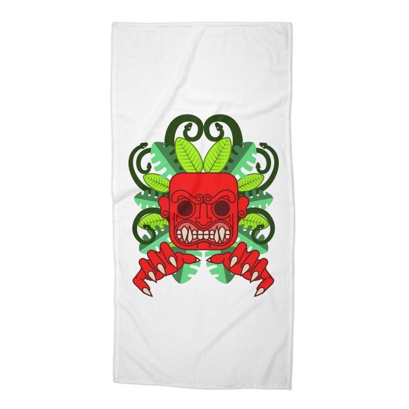 Ai Apaec Accessories Beach Towel by juliusllopis's Artist Shop