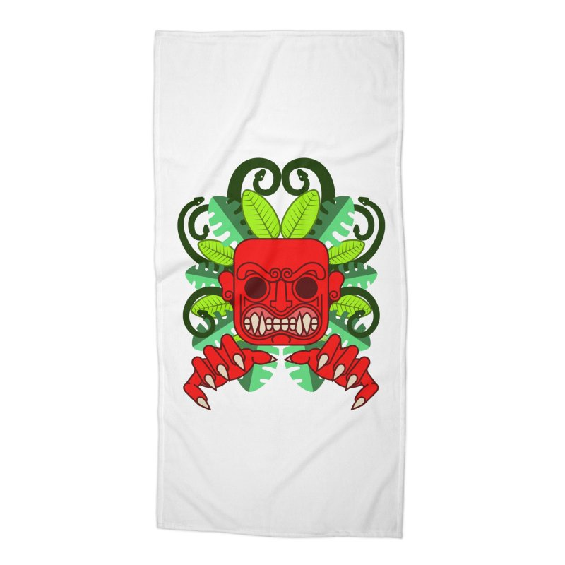 Ai Apaec Accessories Beach Towel by juliusllopis's Artist Shop