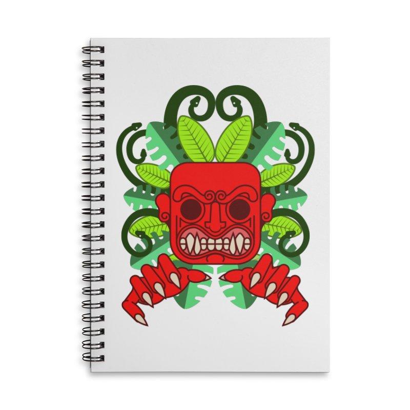 Ai Apaec Accessories Lined Spiral Notebook by juliusllopis's Artist Shop