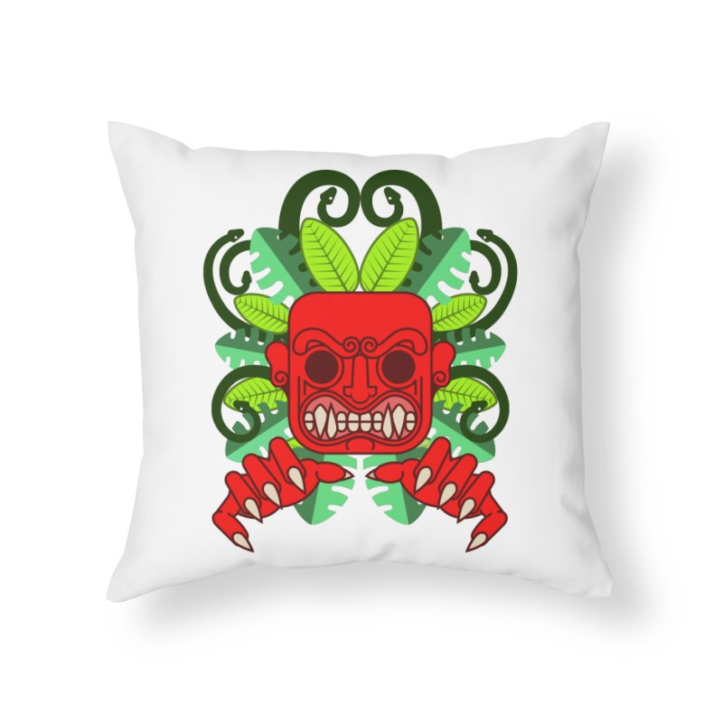 Ai Apaec Home Throw Pillow by juliusllopis's Artist Shop