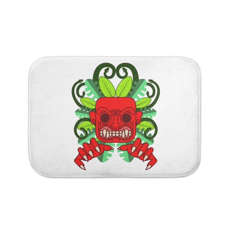 Ai Apaec Home Bath Mat by juliusllopis's Artist Shop