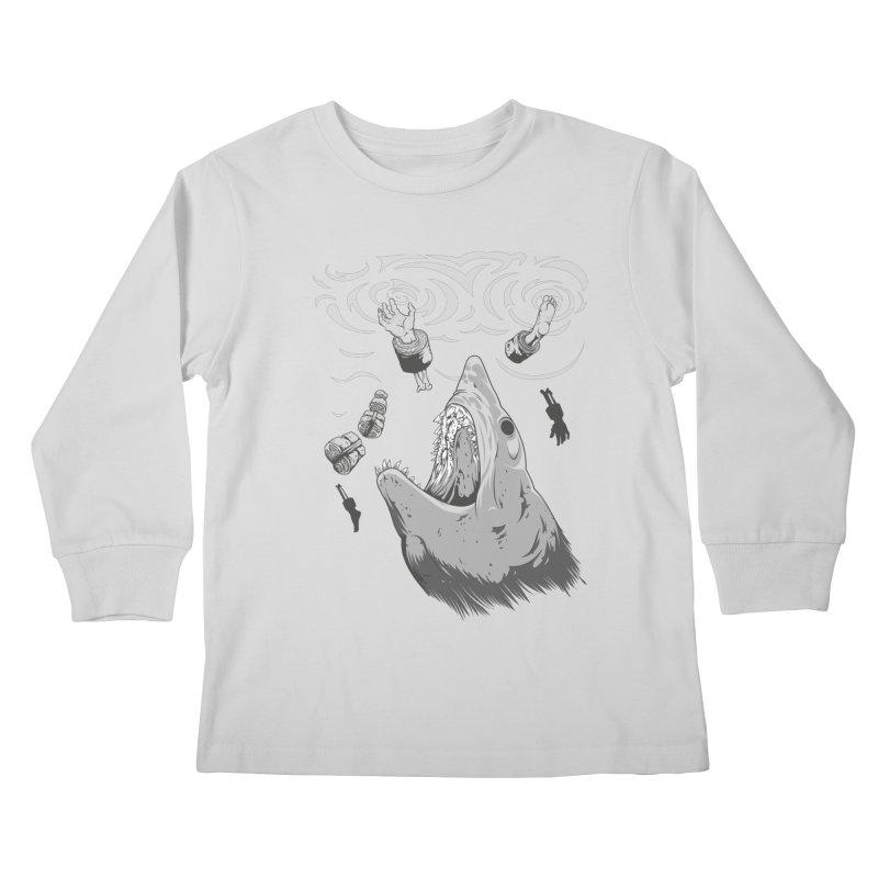 Human sushi Kids Longsleeve T-Shirt by juliusllopis's Artist Shop