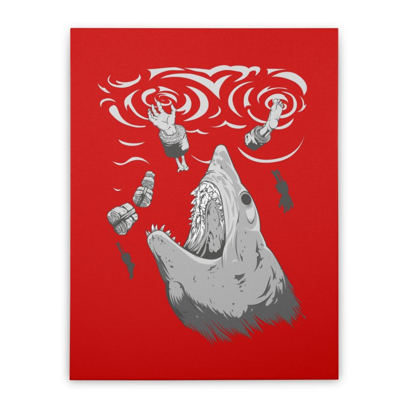 Human sushi Home Stretched Canvas by juliusllopis's Artist Shop