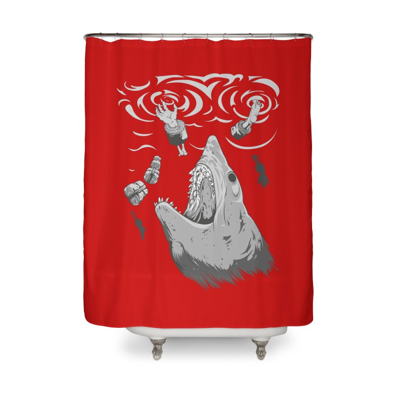 Human sushi Home Shower Curtain by juliusllopis's Artist Shop