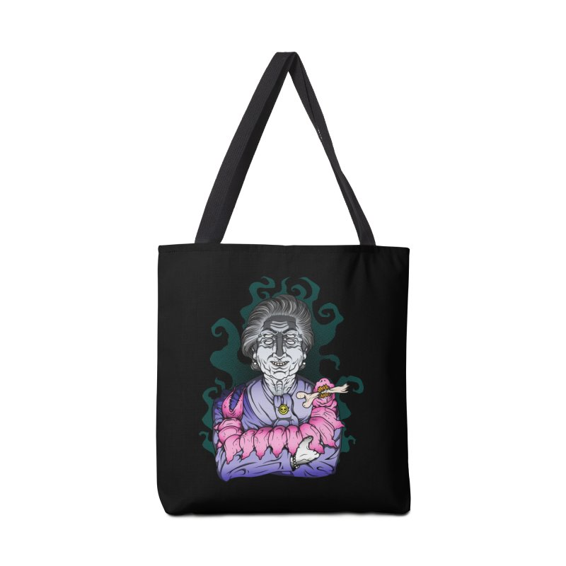 Old lady and her pet Accessories Bag by juliusllopis's Artist Shop