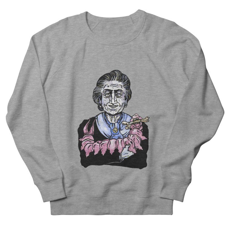Old lady and her pet Women's Sweatshirt by juliusllopis's Artist Shop