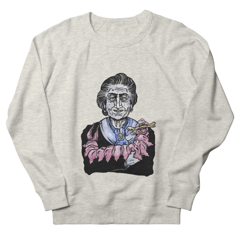 Old lady and her pet Men's Sweatshirt by juliusllopis's Artist Shop