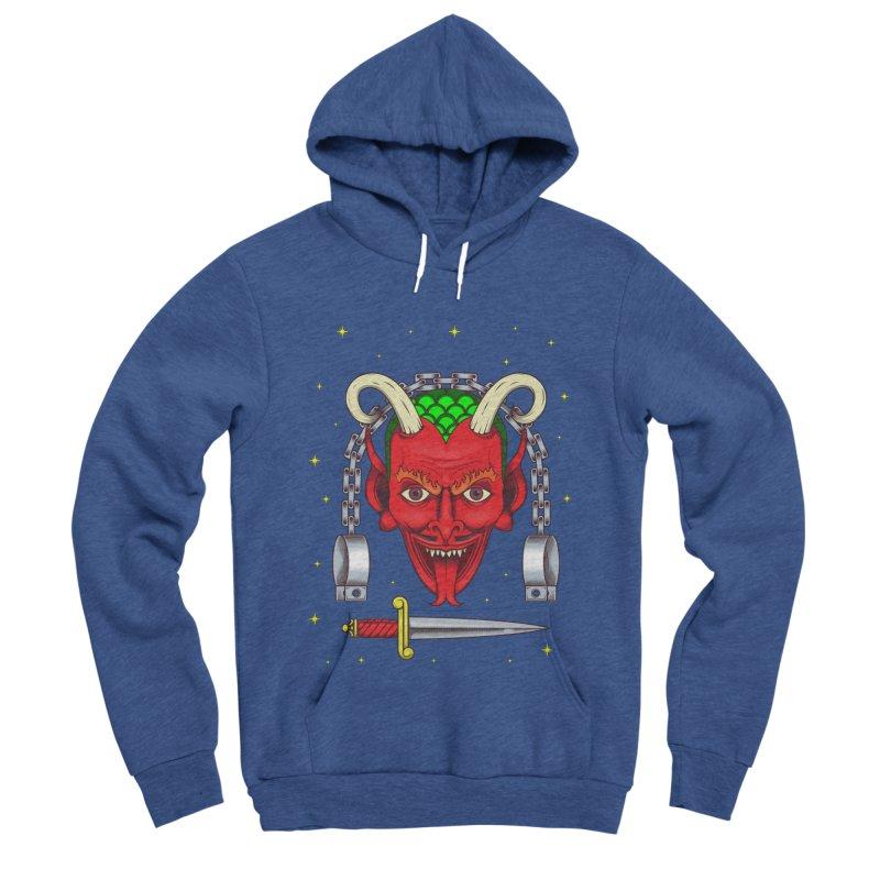 Devil Men's Sponge Fleece Pullover Hoody by juliusllopis's Artist Shop