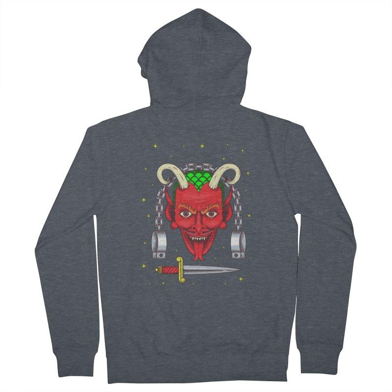 Devil Women's Zip-Up Hoody by juliusllopis's Artist Shop