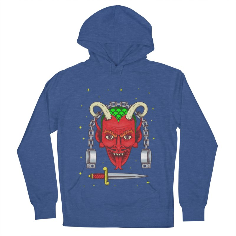 Devil Women's French Terry Pullover Hoody by juliusllopis's Artist Shop