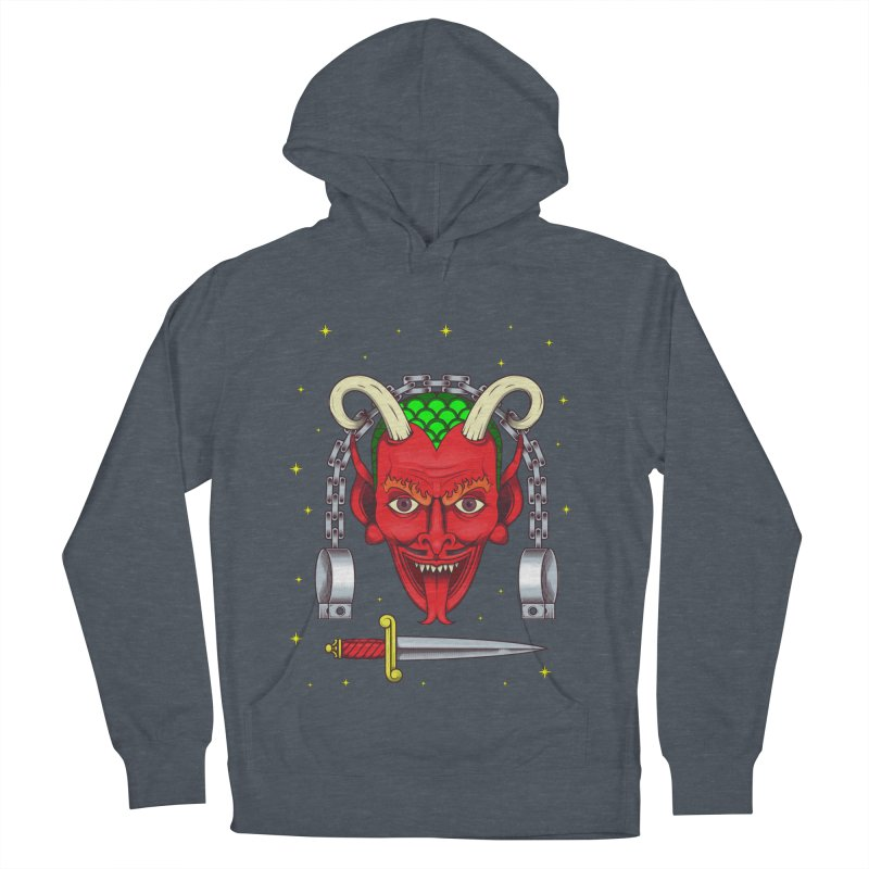 Devil Men's French Terry Pullover Hoody by juliusllopis's Artist Shop