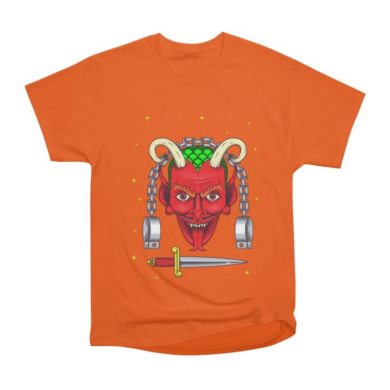 Devil Men's Heavyweight T-Shirt by juliusllopis's Artist Shop