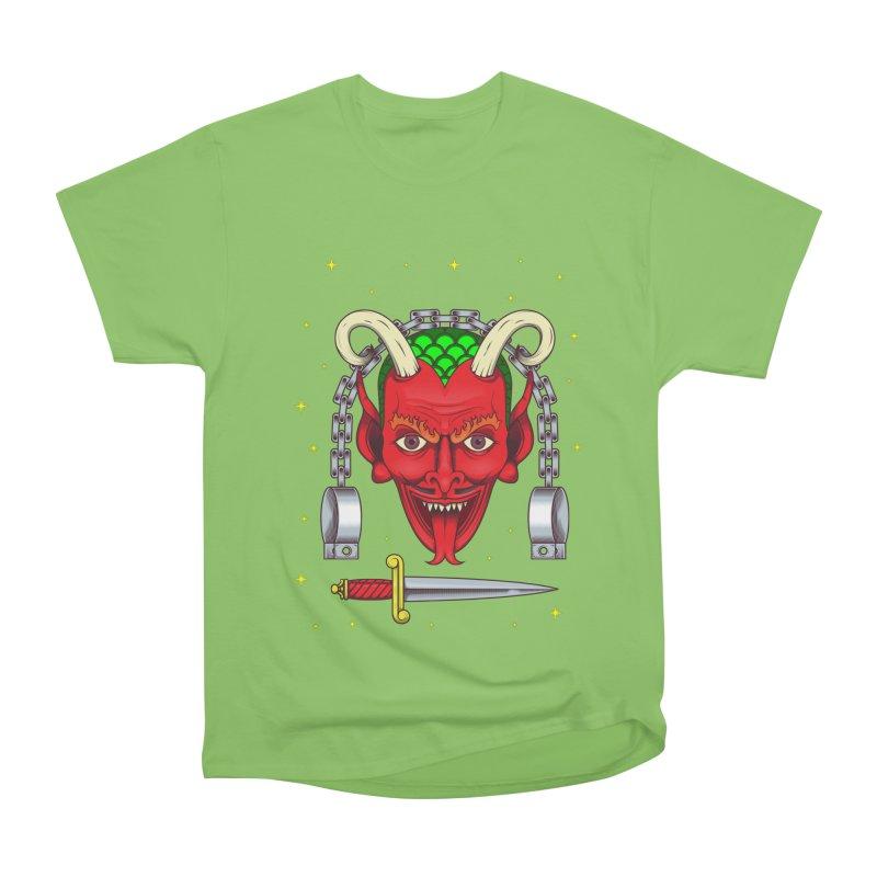 Devil Women's Heavyweight Unisex T-Shirt by juliusllopis's Artist Shop