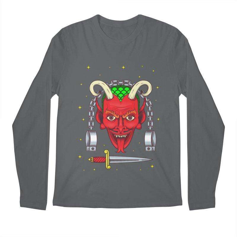 Devil Men's Longsleeve T-Shirt by juliusllopis's Artist Shop