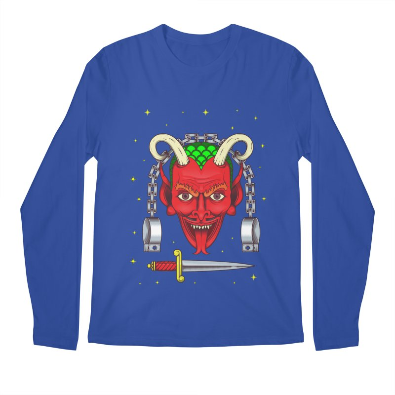 Devil Men's Regular Longsleeve T-Shirt by juliusllopis's Artist Shop