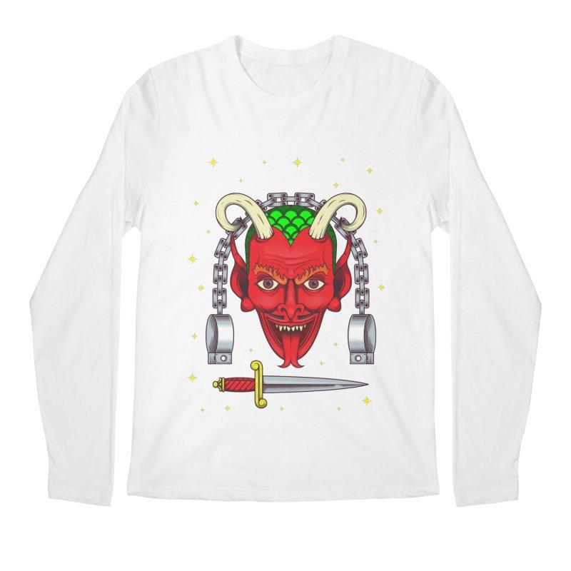 Devil Men's Regular Longsleeve T-Shirt by juliusllopis's Artist Shop