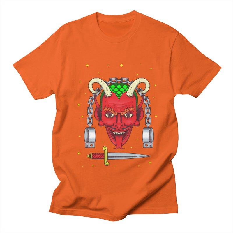 Devil Men's Regular T-Shirt by juliusllopis's Artist Shop