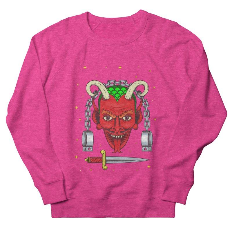 Devil Men's French Terry Sweatshirt by juliusllopis's Artist Shop