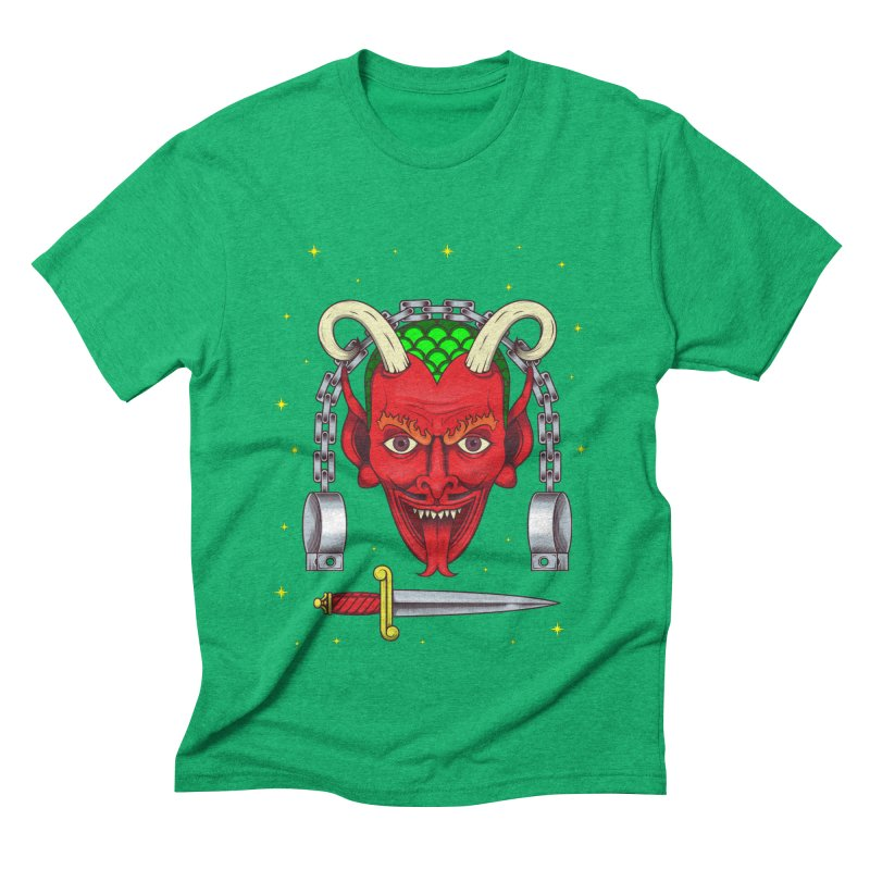 Devil Men's Triblend T-Shirt by juliusllopis's Artist Shop