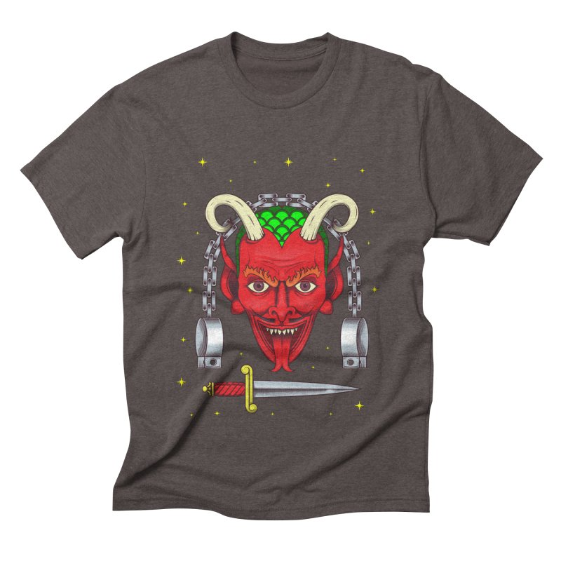 Devil Men's Triblend T-Shirt by juliusllopis's Artist Shop