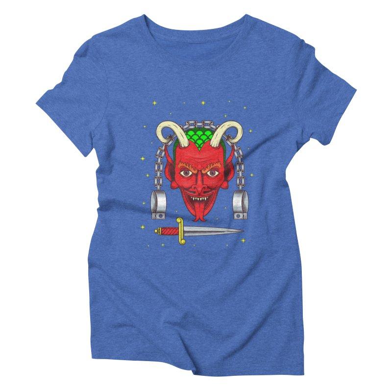 Devil Women's Triblend T-Shirt by juliusllopis's Artist Shop