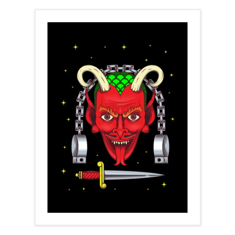 Devil Home Fine Art Print by juliusllopis's Artist Shop