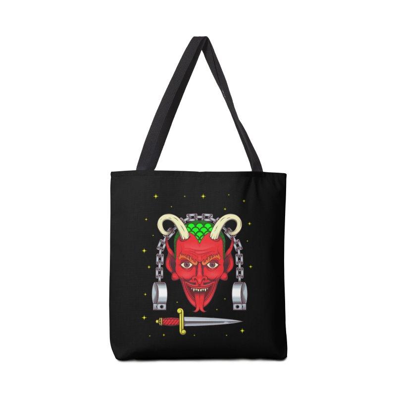 Devil Accessories Bag by juliusllopis's Artist Shop