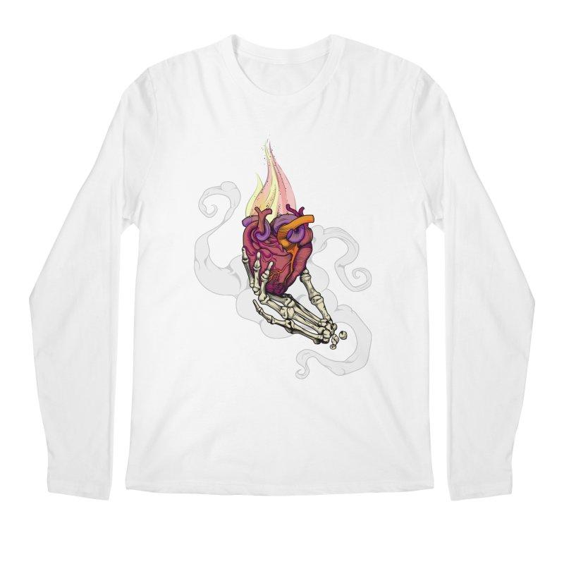 Sacred heart Men's Longsleeve T-Shirt by juliusllopis's Artist Shop