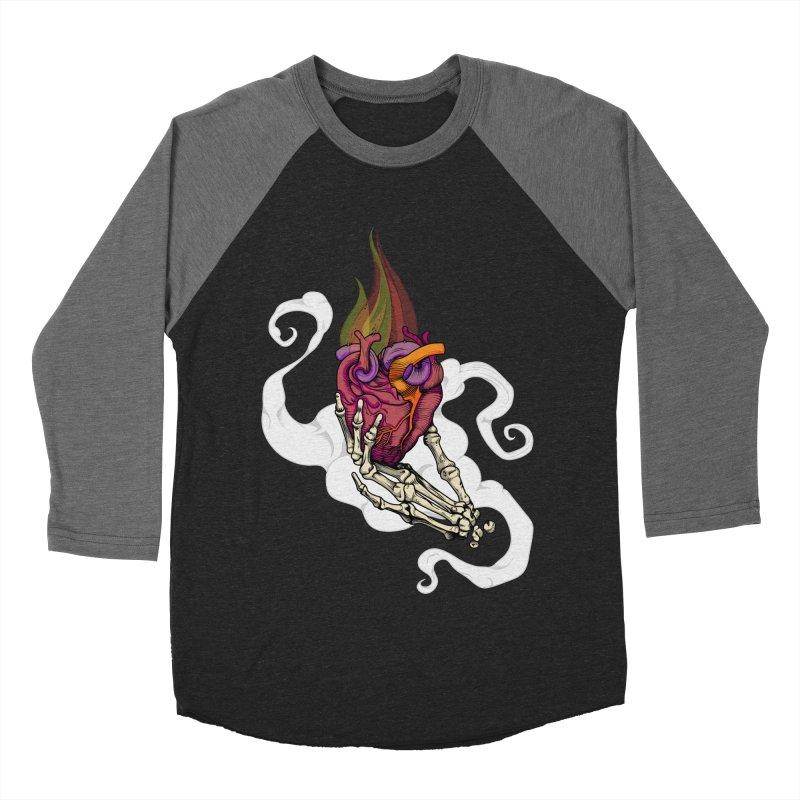 Sacred heart Women's Baseball Triblend T-Shirt by juliusllopis's Artist Shop