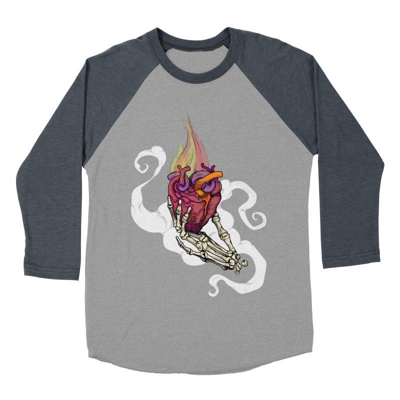 Sacred heart Men's Baseball Triblend T-Shirt by juliusllopis's Artist Shop