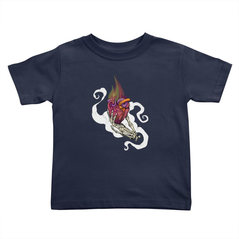 Sacred heart Kids Toddler T-Shirt by juliusllopis's Artist Shop