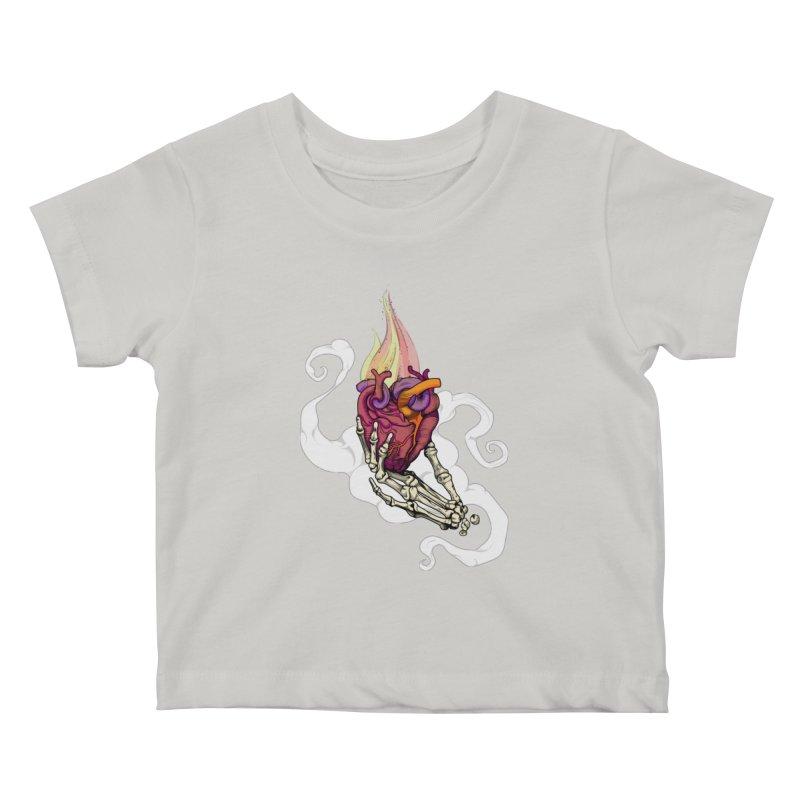 Sacred heart Kids Baby T-Shirt by juliusllopis's Artist Shop