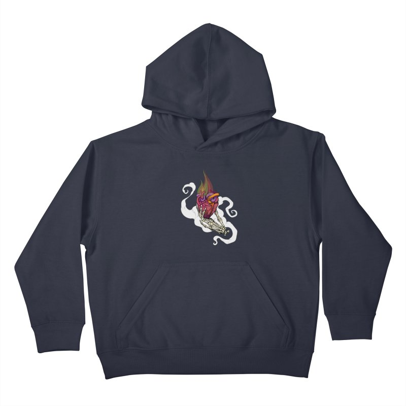 Sacred heart Kids Pullover Hoody by juliusllopis's Artist Shop