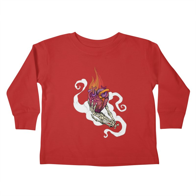 Sacred heart Kids Toddler Longsleeve T-Shirt by juliusllopis's Artist Shop