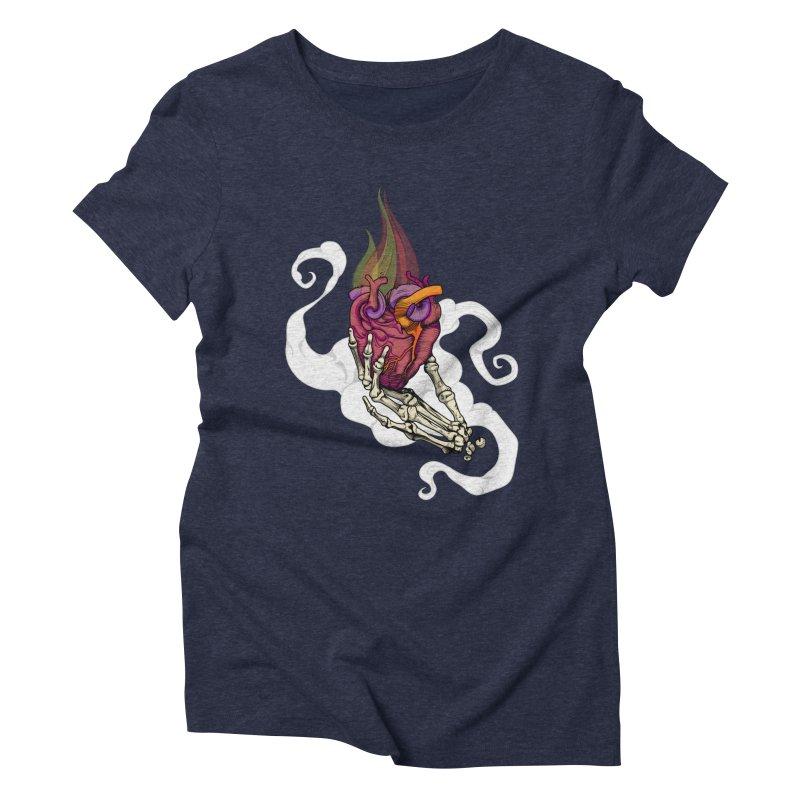 Sacred heart Women's Triblend T-shirt by juliusllopis's Artist Shop