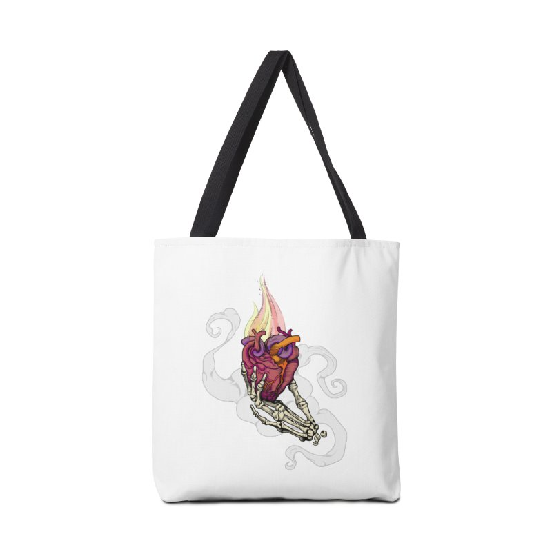 Sacred heart Accessories Bag by juliusllopis's Artist Shop