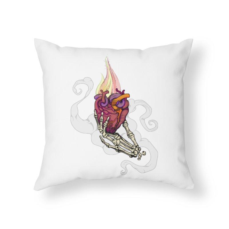 Sacred heart Home Throw Pillow by juliusllopis's Artist Shop