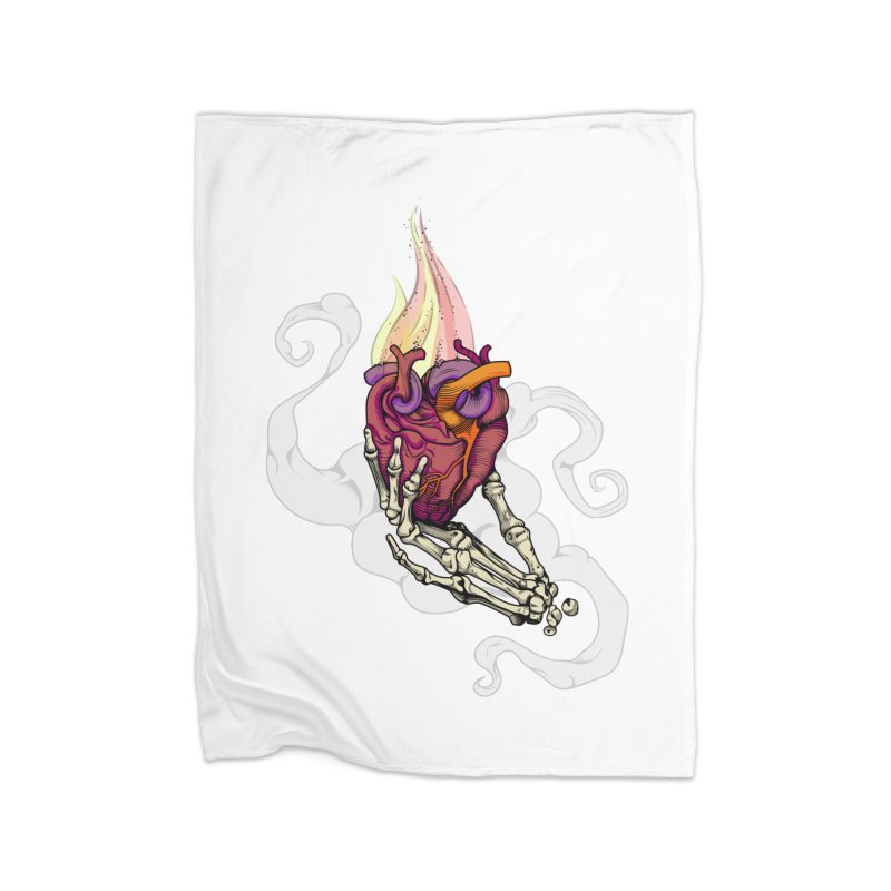 Sacred heart Home Blanket by juliusllopis's Artist Shop