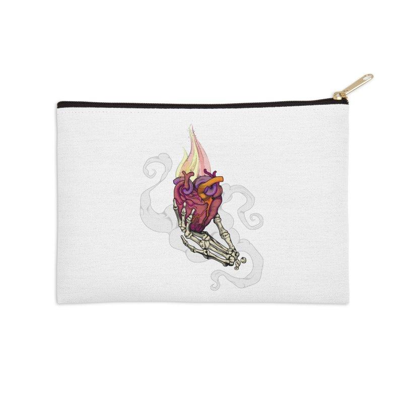 Sacred heart Accessories Zip Pouch by juliusllopis's Artist Shop