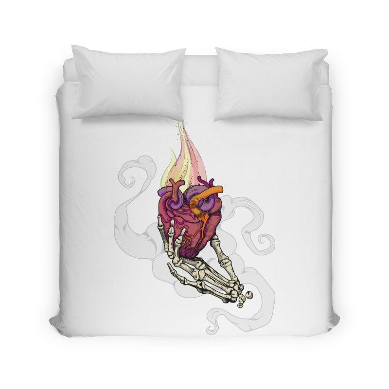 Sacred heart Home Duvet by juliusllopis's Artist Shop